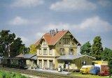 鉄道模型 ファーラー Faller 110107 Guglingen Station. 駅 HOゲージ