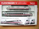 鉄道模型 フライシュマン Fleischmann 7452 ICE 2 DB AG Nゲージ