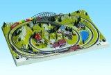 """鉄道模型 ノッホ NOCH 87080 Zゲージ レイアウト """"テッシン TESSIN"""" 78x54cm"""