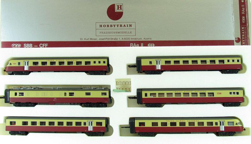 ... TEE RAe II 6両セット 電車 Nゲージ