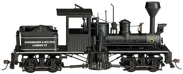 画像1: 鉄道模型 バックマン Bachmann 25657 2トラック シェイ 蒸気機関車 ナローゲージ On30