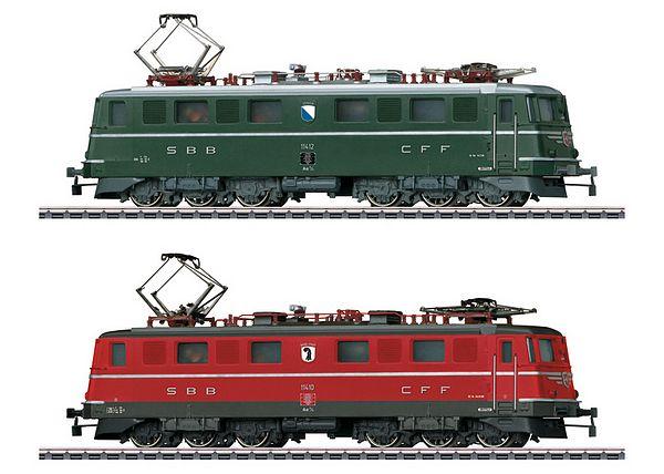 画像1: 鉄道模型 メルクリン Marklin 30501 SBB/CFF/FFS Ae 6/6 電気機関車 2両セット HOゲージ