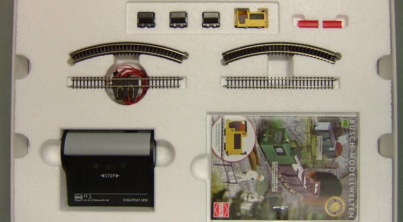 画像3: 鉄道模型 Busch ブッシュ 5000 鉱山列車スターターセット HOゲージ