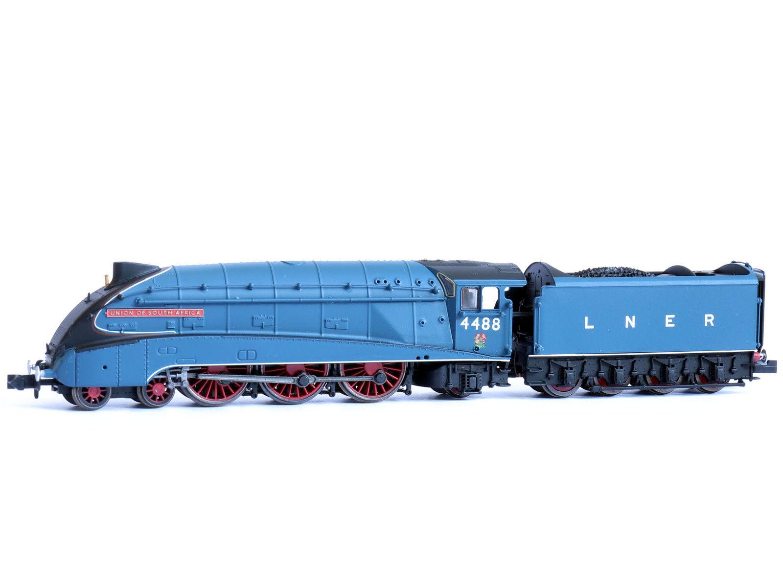 画像1: 鉄道模型 Dapol DAGM202 LNER A4 4488 Union of South Africa号 蒸気機関車 Nゲージ