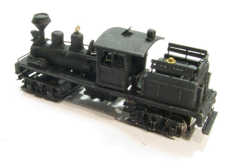 画像3: 鉄道模型 Class B, 30-40 Ton Shay Locomotive Kit シェイ 蒸気機関車 組み立てキット Nゲージ