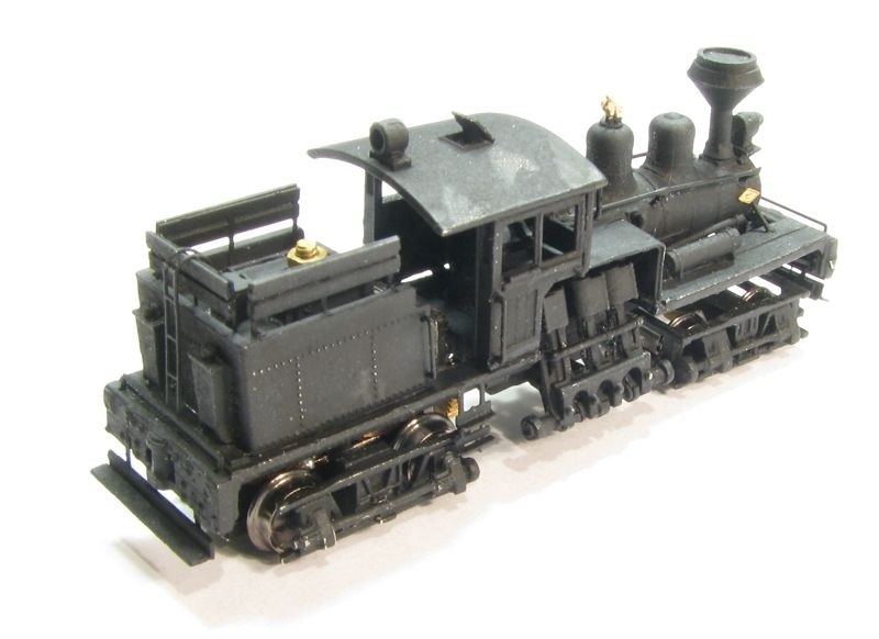 画像4: 鉄道模型 Class B, 30-40 Ton Shay Locomotive Kit シェイ 蒸気機関車 組み立てキット Nゲージ