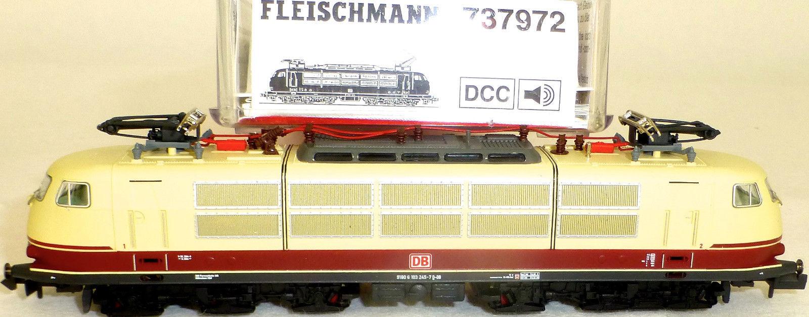 画像2: 鉄道模型 フライシュマン Fleischmann 737972 DB AG E 103 245-7 電気機関車 Nゲージ