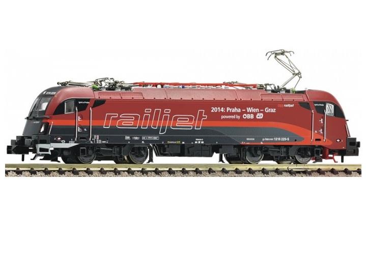画像1: 鉄道模型 フライシュマン Fleischmann 781284 taurus 1216 229-5 電気機関車 Nゲージ