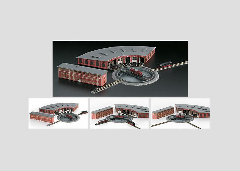 画像1: 鉄道模型 メルクリン Marklin 89982 電動ターンテーブル 転車台 Zゲージ
