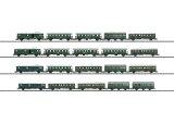 鉄道模型 トリックス Trix 23445 Pwi-30 Pwi-23 ABi-28 Bi-30 B3 AB-21 Bd-21b DB 客車セット HOゲージ