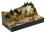 鉄道模型 ミニトリックス MiniTrix 66201 Rhine Valley Station Module. Nゲージ