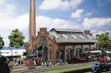 鉄道模型 ファーラー Faller 120159 Locomotive shed/engine workshop 機関庫 HOゲージ