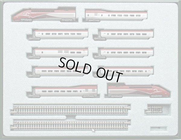 画像2: 鉄道模型 カトー KATO 10918 SNCF フランス国鉄 TGV Thalys タリス ニューカラー 10両セット Nゲージ