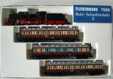 鉄道模型 フライシュマン Fleischmann 7888 Rhur Schnellverkehr II BR 38 蒸気機関車 客車列車セット DRG 限定品 Nゲージ