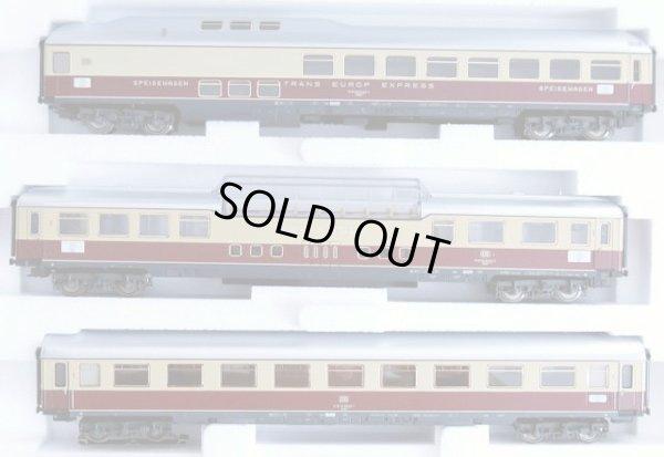画像1: 鉄道模型 メルクリン Marklin 42990 TEE ラインゴールド 客車3両セット HOゲージ