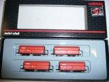 鉄道模型 メルクリン Marklin 86309 ホッパー貨車 4両セット Zゲージ