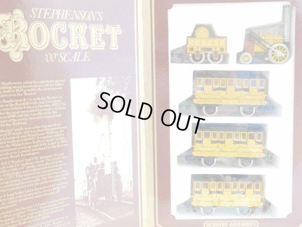 画像1: 鉄道模型 ホーンビィ HORNBY R796 ROCKET ロケット号 蒸気機関車セット OOゲージ