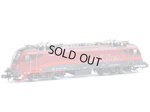 画像1: 鉄道模型 ホビートレイン HobbyTrain 2732 OBB BR 1216 Taurus タウルス Railjet レイルジェット 電気機関車 Nゲージ