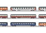 鉄道模型 メルクリン Marklin 87409 ミニクラブ mini-club Eurofima 客車 9両セット  Zゲージ