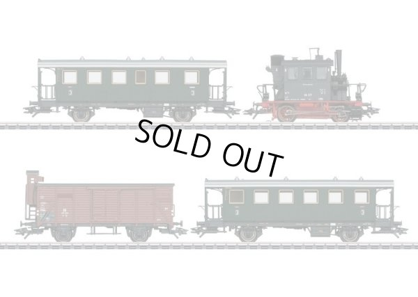 画像1: 鉄道模型 メルクリン Marklin 26609 DB 98.3 グラスカステン 混合列車セット HOゲージ