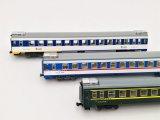 鉄道模型 KUNTER 中国 YZ25K 客車3両セット Nゲージ