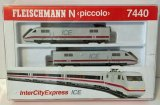 鉄道模型 フライシュマン Fleischmann 7440 ICE Nゲージ