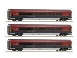 鉄道模型 ロコ Roco 64191 RAILJET 客車 3両セット HOゲージ