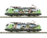 """鉄道模型 フライシュマン Fleischmann 739399 BR 193 SETG """"Alpenlok"""" 電気機関車 Nゲージ"""