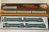 鉄道模型 メルクリン Marklin 87290 ミニクラブ mini-club 2階建て客車4両セット Zゲージ