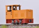 鉄道模型 ミニトレインズ Minitrains 2024 ディーゼル機関車 オレンジ HOn30 ナローゲージ(9mm)