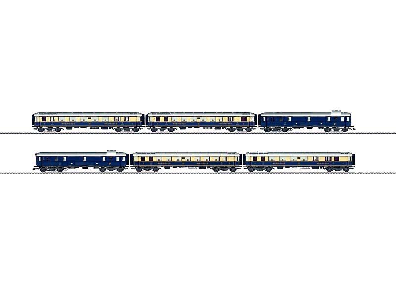 画像1: 鉄道模型 メルクリン Marklin 42283 Express Train ラインゴールド 客車セット HOゲージ