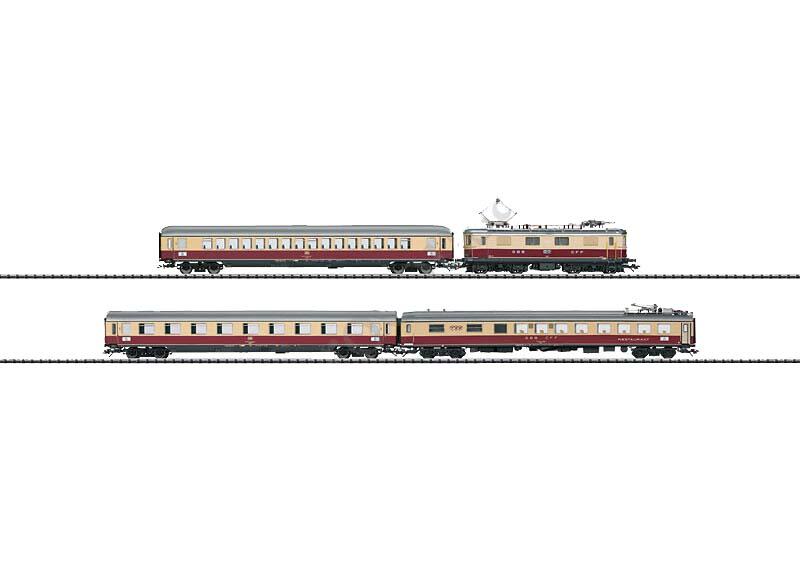 画像1: 鉄道模型 トリックス Trix 21238 Bavaria TEE Express Train 急行列車セット HOゲージ
