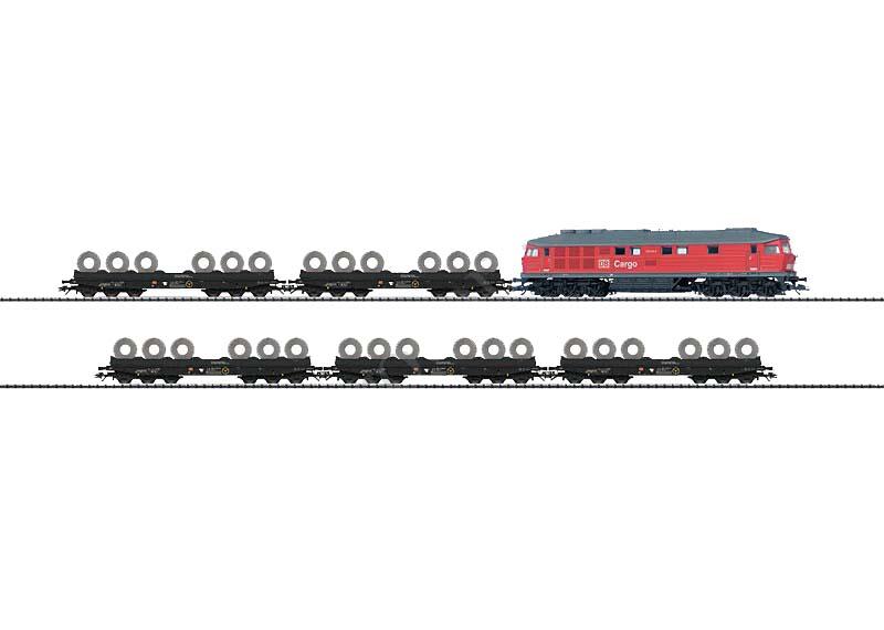 画像1: 鉄道模型 トリックス Trix 21347 Steel Train Set 貨物列車セット HOゲージ