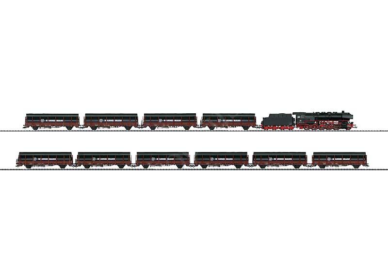 画像1: 鉄道模型 トリックス Trix 21237 Heavy Freight Train BR 44 DB 貨物列車セット HOゲージ