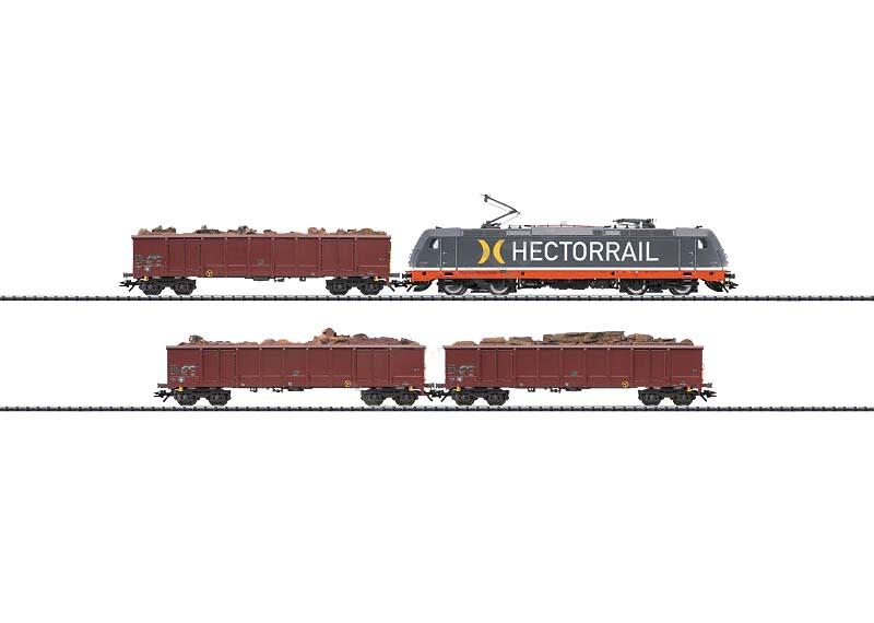 画像1: 鉄道模型 トリックス Trix 21348 Skywalker Train Set 貨物列車セット HOゲージ