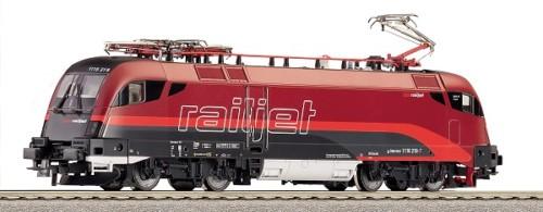 画像1: 鉄道模型 ロコ Roco 62366 Rh 1116 RAILJET Sound  電気機関車 EL HOゲージ