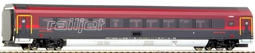 画像1: 鉄道模型 ロコ Roco 64722 - RAILJET-Car Economy+Bel.  客車 HOゲージ
