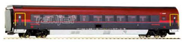 画像1: 鉄道模型 ロコ Roco 64713 - Wagon Railjet Economy light 客車 HOゲージ