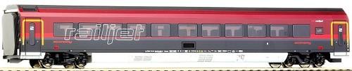 画像1: 鉄道模型 ロコ Roco 64720 - RAILJET-Car Economy 2 客車 HOゲージ