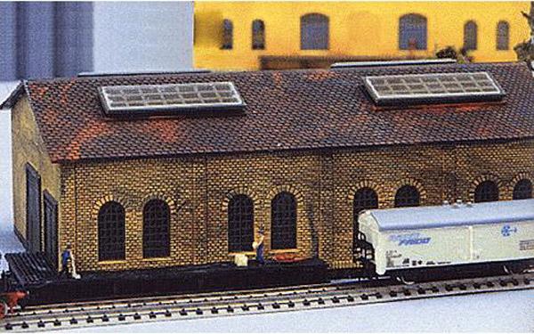 画像3: 鉄道模型 ヘルヤン HELJAN 675 倉庫施設 組み立てキット Nゲージ