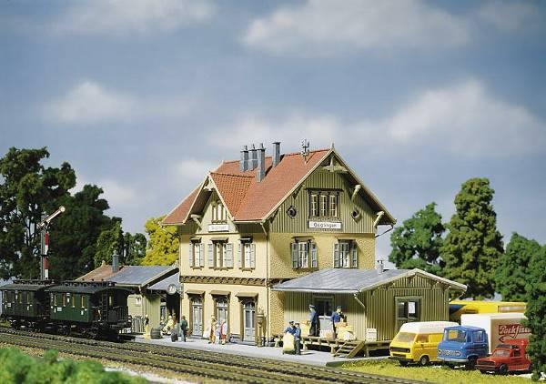 画像1: 鉄道模型 ファーラー Faller 110107 Guglingen Station. 駅 HOゲージ
