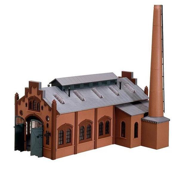 画像2: 鉄道模型 ファーラー Faller 120159 Locomotive shed/engine workshop 機関庫 HOゲージ
