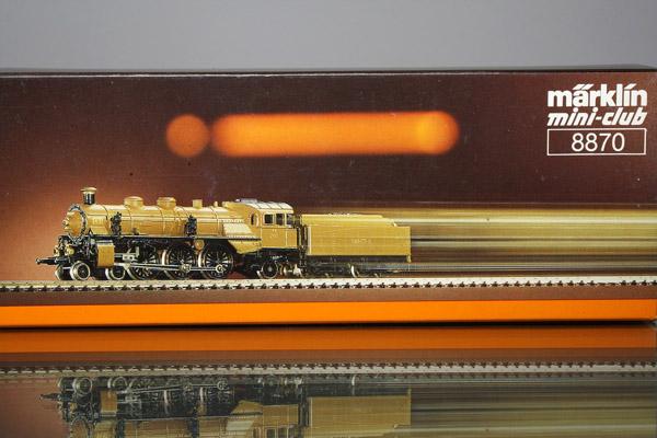 画像1: 鉄道模型 メルクリン Marklin 8870 mini-club ミニクラブ King Ludwig バイエルン王国鉄道 蒸気機関車 Zゲージ