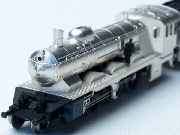 画像4: 鉄道模型 メルクリン Marklin 8836 ミニクラブ mini-club ヴュルテンベルク州立鉄道 蒸気機関車 銀メッキ Zゲージ