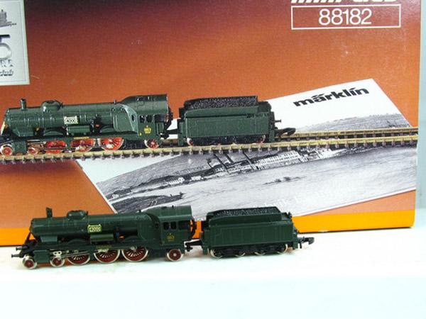 画像1: 鉄道模型 メルクリン Marklin 88182 ミニクラブ mini-club 蒸気機関車 Zゲージ