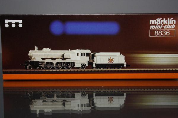 画像1: 鉄道模型 メルクリン Marklin 8836 ミニクラブ mini-club ヴュルテンベルク州立鉄道 蒸気機関車 銀メッキ Zゲージ