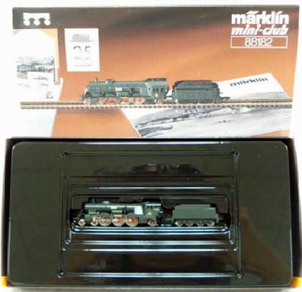 画像2: 鉄道模型 メルクリン Marklin 88182 ミニクラブ mini-club 蒸気機関車 Zゲージ