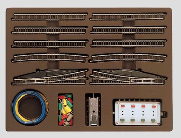 画像1: 鉄道模型 メルクリン Marklin 8191-E 拡張レールセット 線路 Zゲージ