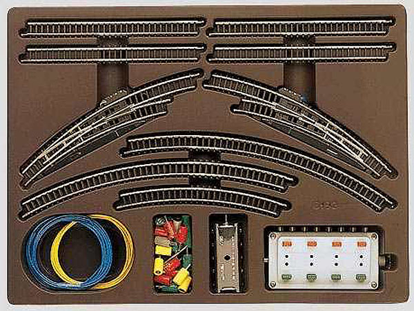 画像1: 鉄道模型 メルクリン Marklin 8192 拡張レールセット T1 線路 Zゲージ