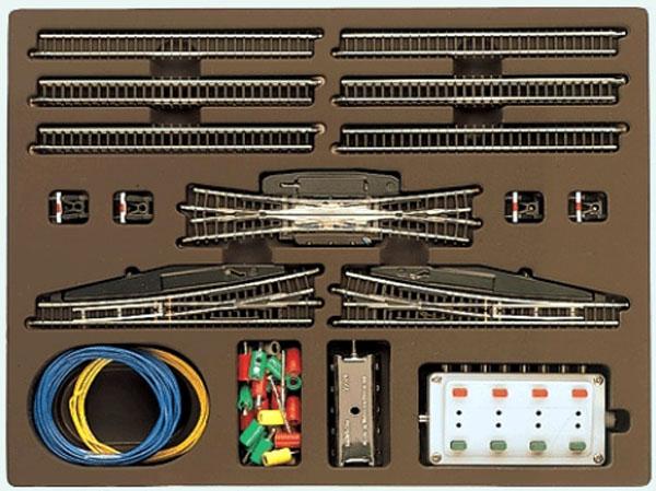 画像1: 鉄道模型 メルクリン Marklin 8194 ヤードレールセット T3 線路 Zゲージ
